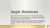 Angle Relations (Complementary, Supplementary, Vertical, A