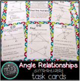 Angle Relationship Task Cards