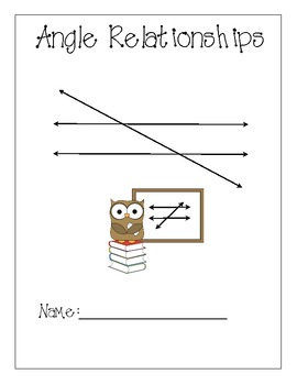 Angle Relationship Study Guide
