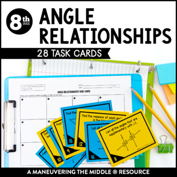 Angle Relationships by Maneuvering the Middle | Teachers ...