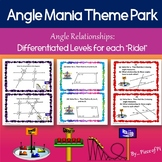 Angle Relationships Activity Stations Differentiated