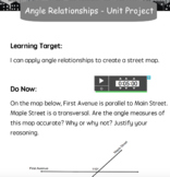 Angle Relationships - Build a City Project