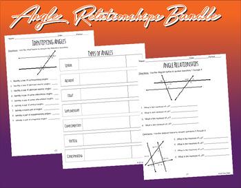 Angle Relationships Bundle