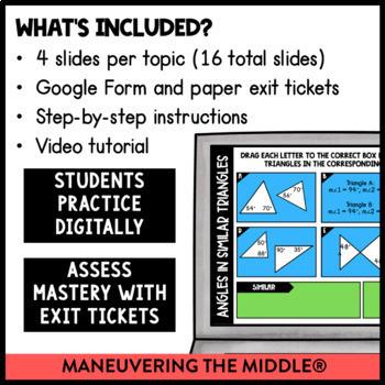 Angle Relationships - Google Slides™ Supplemental Digital Math Activities