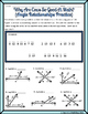 Angle Relationships (Linear Pair, Vertical, Complementary) Riddle Worksheet