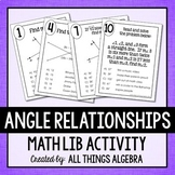 Angle Relationships Math Lib