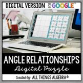 Angle Relationships Puzzle: DIGITAL VERSION (for Google Slides™)