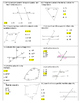 Angle Relationships Quiz  With Answer Key