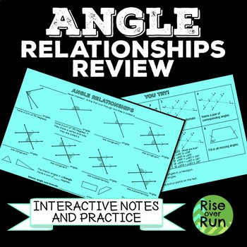 Angle Relationships Review and Practice