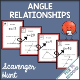 Angle Relationships Activity - Scavenger Hunt