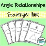Angle Relationships Scavenger Hunt (TEKS 7.11C)