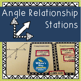 Angle Relationships Stations: Complementary, Supplementary