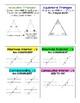 Angle Relationships - Study Sheet