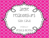 Angle Relationships Task Cards