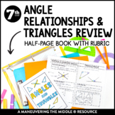 Angle Relationships & Triangles Review