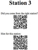 Angle Relationships in Circles -Lesson Plan, QR Code Scavenger Maze, Exit Ticket
