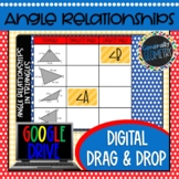 Angle Relationships in Triangles Digital Drag & Drop; Goog