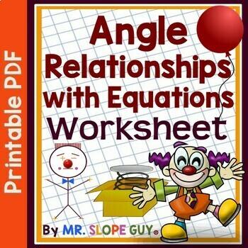 Winter Math Worksheet Angle Relationships With Equations Pdf Worksheet Geometry Ga  Fine Motor Skills Worksheets Ks1 Word with Worksheets Pronouns Word Angle Relationships With Equations Pdf Worksheet Geometry Ga Go Math Kinds Of Sentences Worksheets