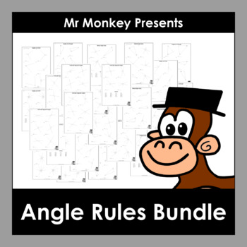 Angle Rules Worksheets Bundle