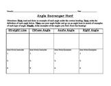 Angle Scavenger Hunt