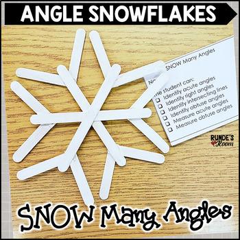 Angle Snowflake Activity