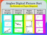 Angle Sort - Reflex, Acute, Obtuse, Right Angle Digital Go