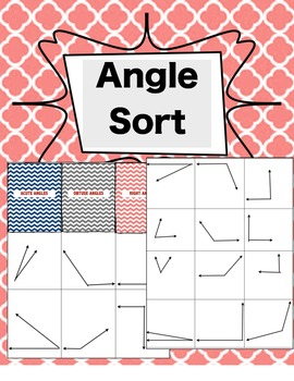 Angle Sort (Right, Obtuse, Acute Angles)