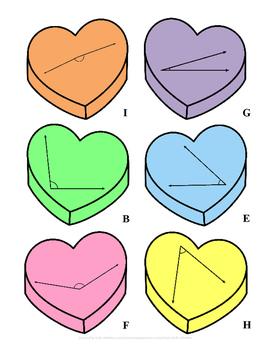 Angle Sort Valentine's Day