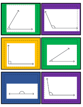 Angle Sorting Interactive Notebook