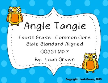 Geometry:  Angle Measurement Game, Find the Missing Angle,