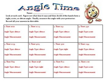 Angle Time