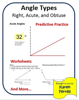 Angle Types: Identifying and Measuring Right, Acute, and Obtuse Angles