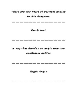 Angle Types matching cards