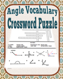 Angle Vocabulary Crossword Puzzle