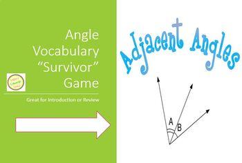 Angle Vocabulary - Survivor Game
