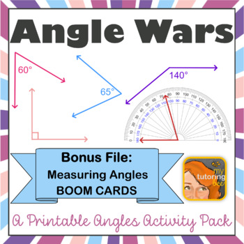 Angle Wars! - Practice drawing and measuring angles!
