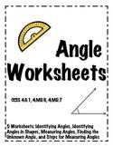 Angle Worksheets