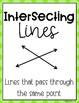 Angle and Line Math Posters