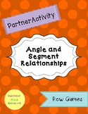 Angle and Segment Relationships Partner Activity