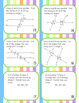Angle and Triangle Relationship Task Card Activity Game