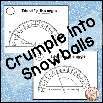 Angles on a Protractor Game