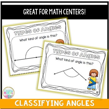 Classifying Angles Task Cards