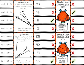 Measuring Angles: Additive Angles Task Cards {4.MD.7}