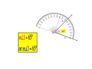 Unit 1 Lesson 3: Angles