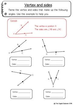 Angles - 40 printables