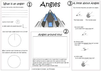 Angles (acute, obtuse, reflex) Learning angles through the clock face