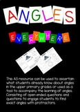 Angles (acute, obtuse, reflex) Learning angles through the