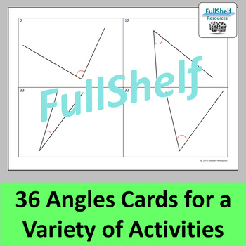 Angles Activities: Classifying, Measuring, Estimating