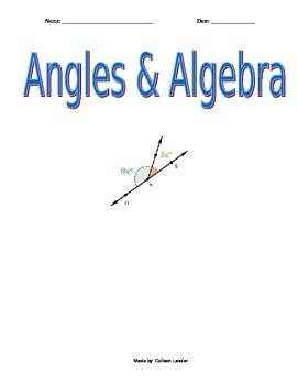 Angles & Algebra