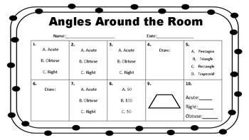 Angles Around the Room